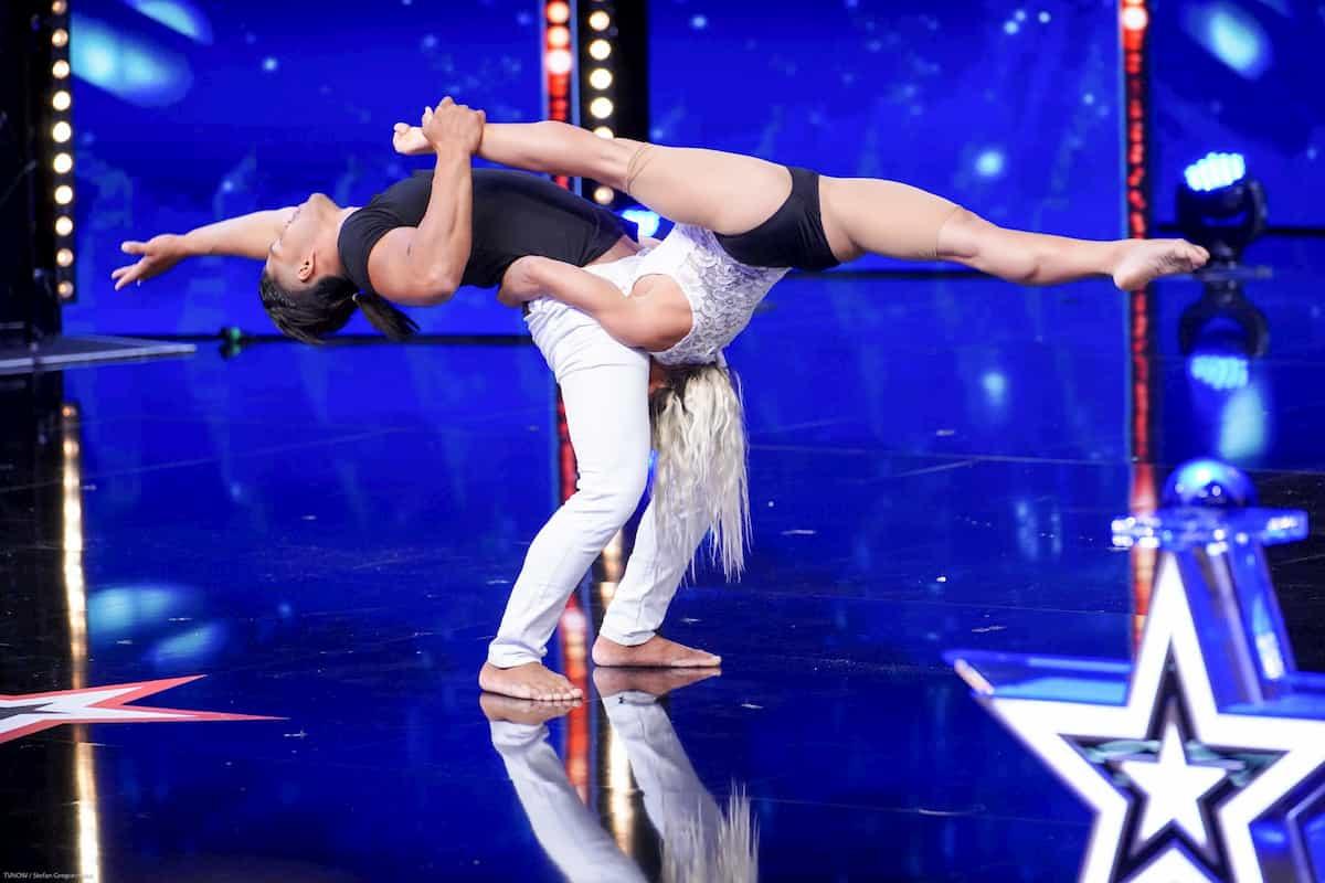 Maite Ramirez und Julio Fajardo beim Supertalent am 12.10.2019