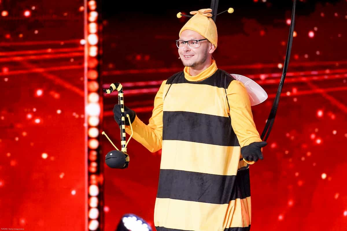 Manuel Sass beim Supertalent am 12.10.2019