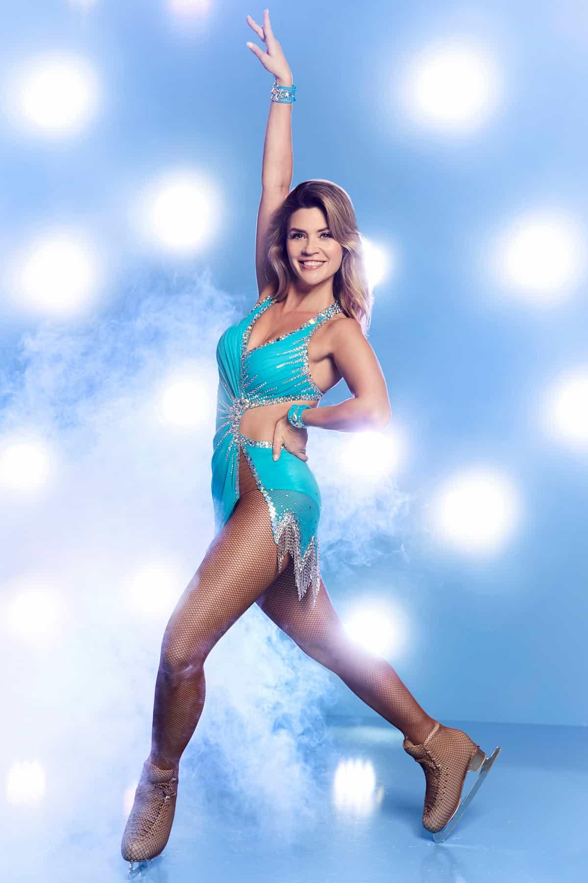 Nadine Klein Promi-Kandidatin Dancing on Ice 2019 Herbst-Winter 2te Staffel