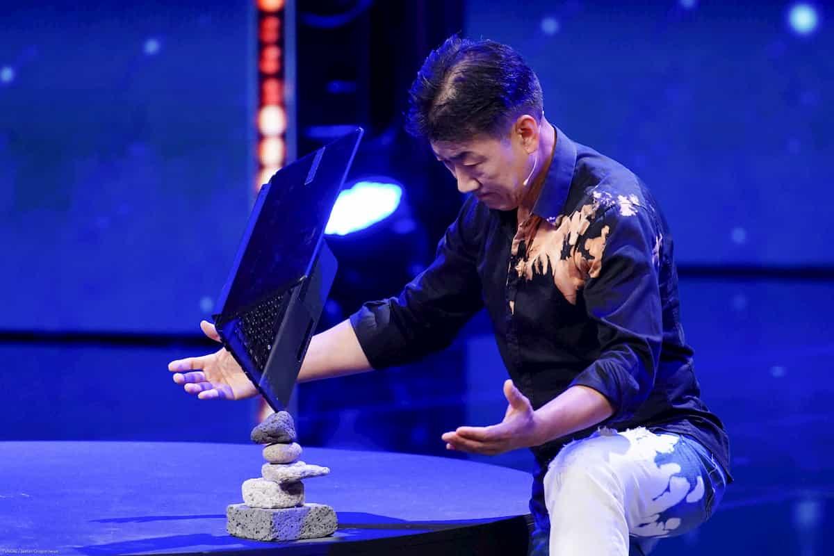 Namseok Byun beim Supertalent am 5.10.2019