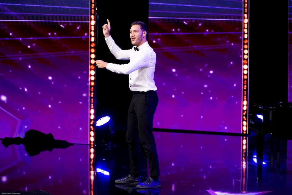 Patrizio Ratto beim Supertalent am 12.10.2019