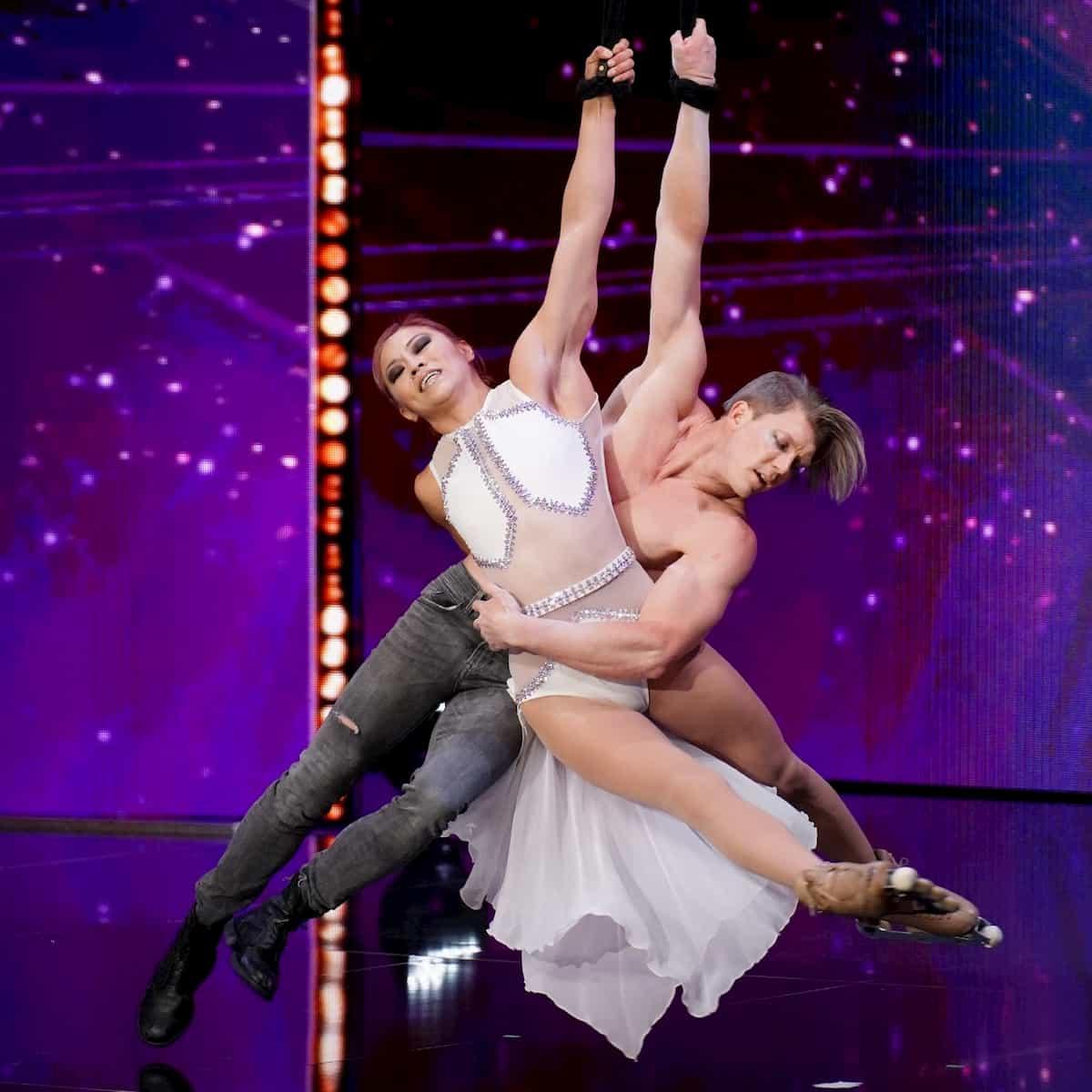 Stuart McKenzie und Angela Kim beim Supertalent am 5.10.2019