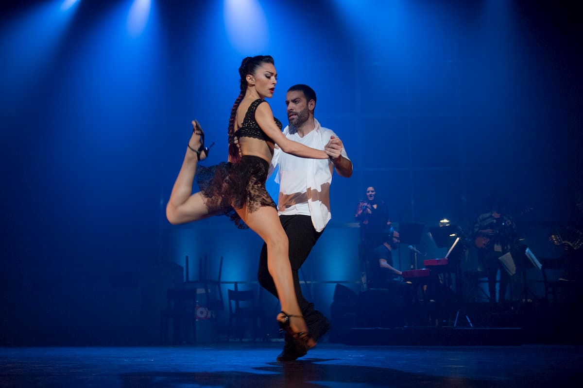 Tanz-Show Break the Tango 2019 in Berlin, Düsseldorf, München, Wien - hier German Cornejo - Gisela Galeassi
