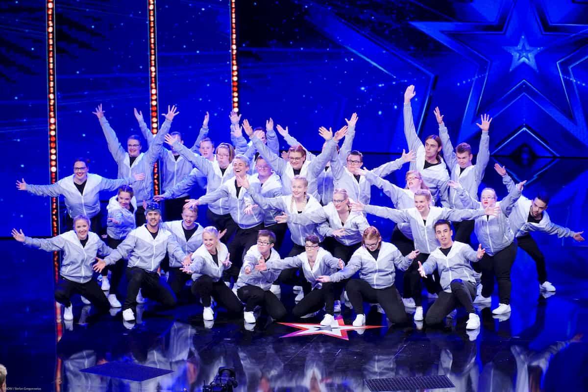 Tanz-Verein Funky beim Supertalent am 5.10.2019