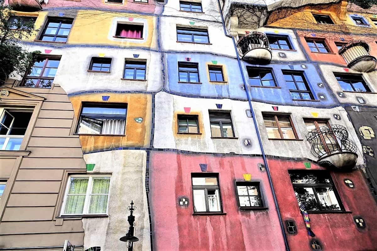Wien Innenstadt - hier das Hundertwasserhaus
