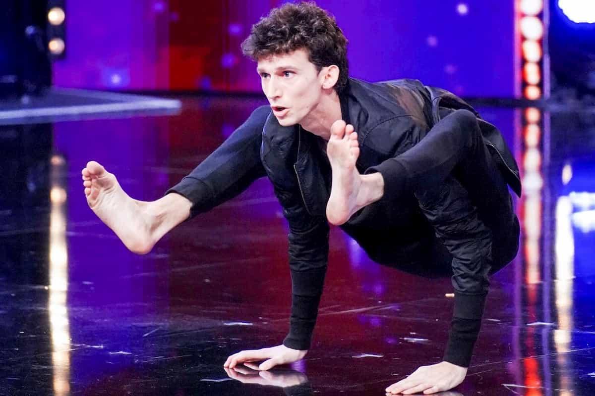 Arthur Cadre beim Supertalent am 23.11.2019
