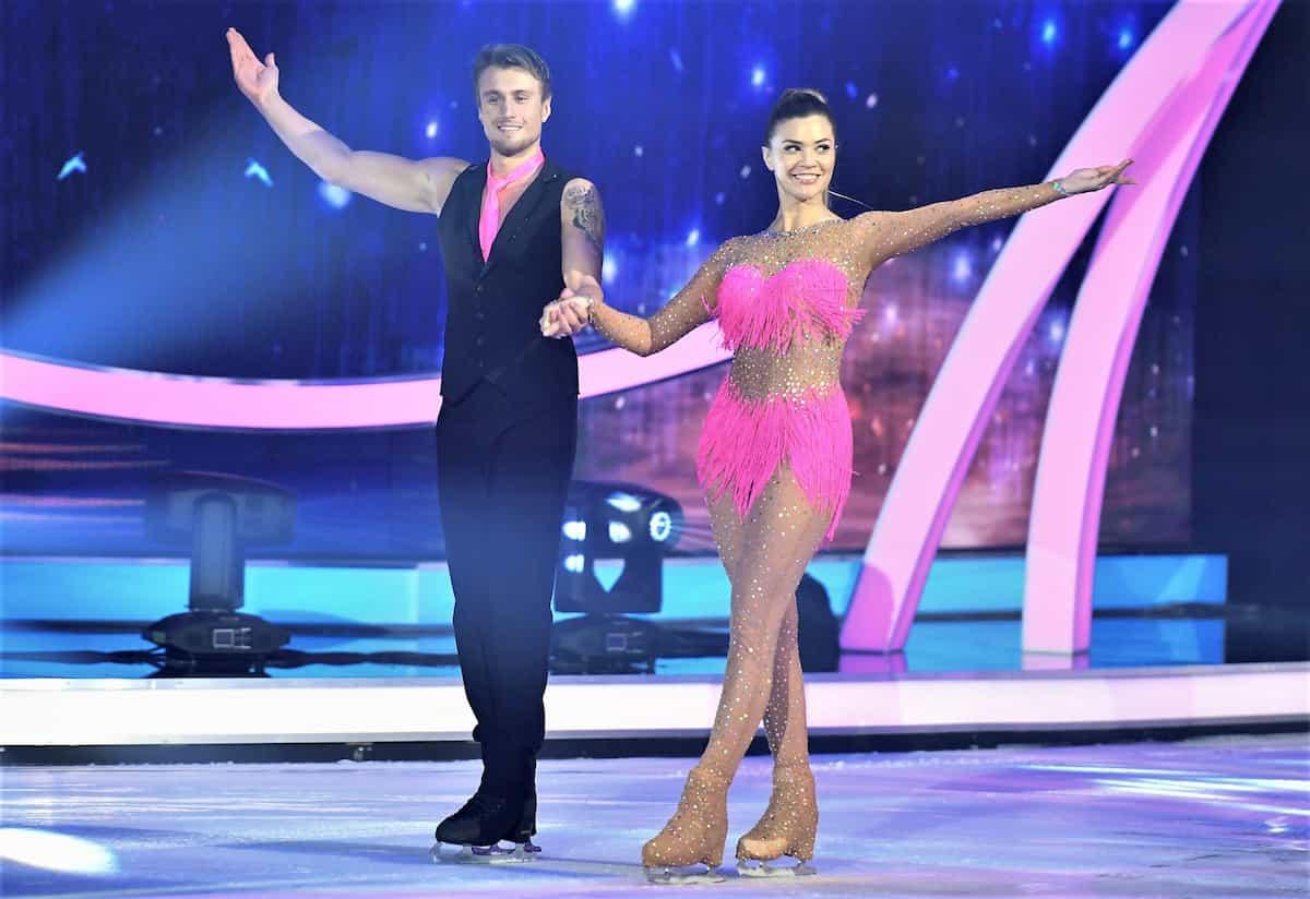Ausgeschieden bei Dancing on Ice am 22.11.2019 sind Nadine Klein - Niko Ulanovsky