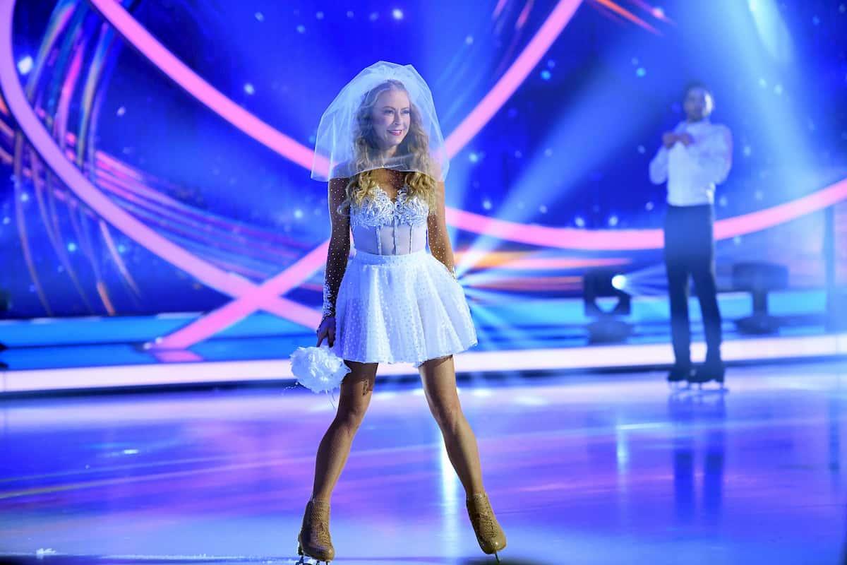 Ausgeschieden bei Dancing on Ice am 29.11.2019 Jenny Elvers - Jamal Othman