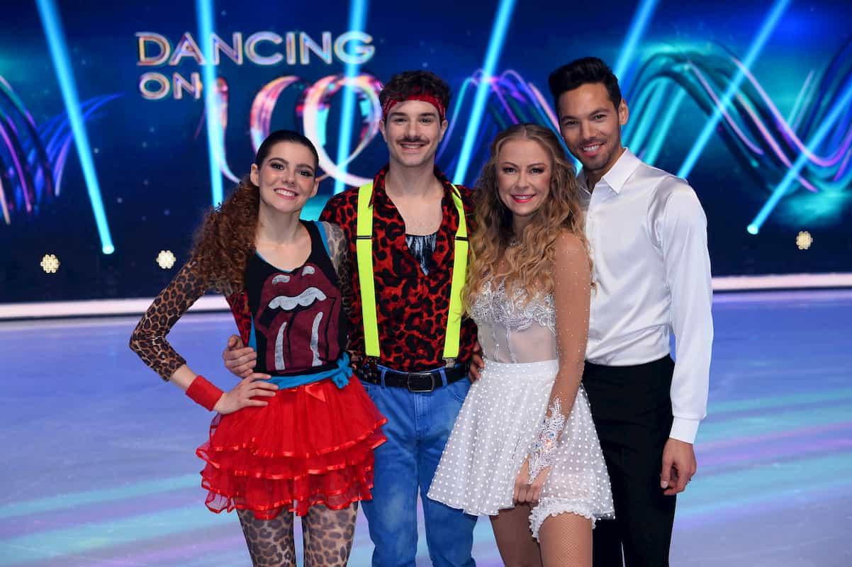 Ausgeschieden bei Dancing on Ice am 29.11.2019 sind Klaudia mit K - Sevan Lerche sowie Jenny Elvers - Jamal Othmann