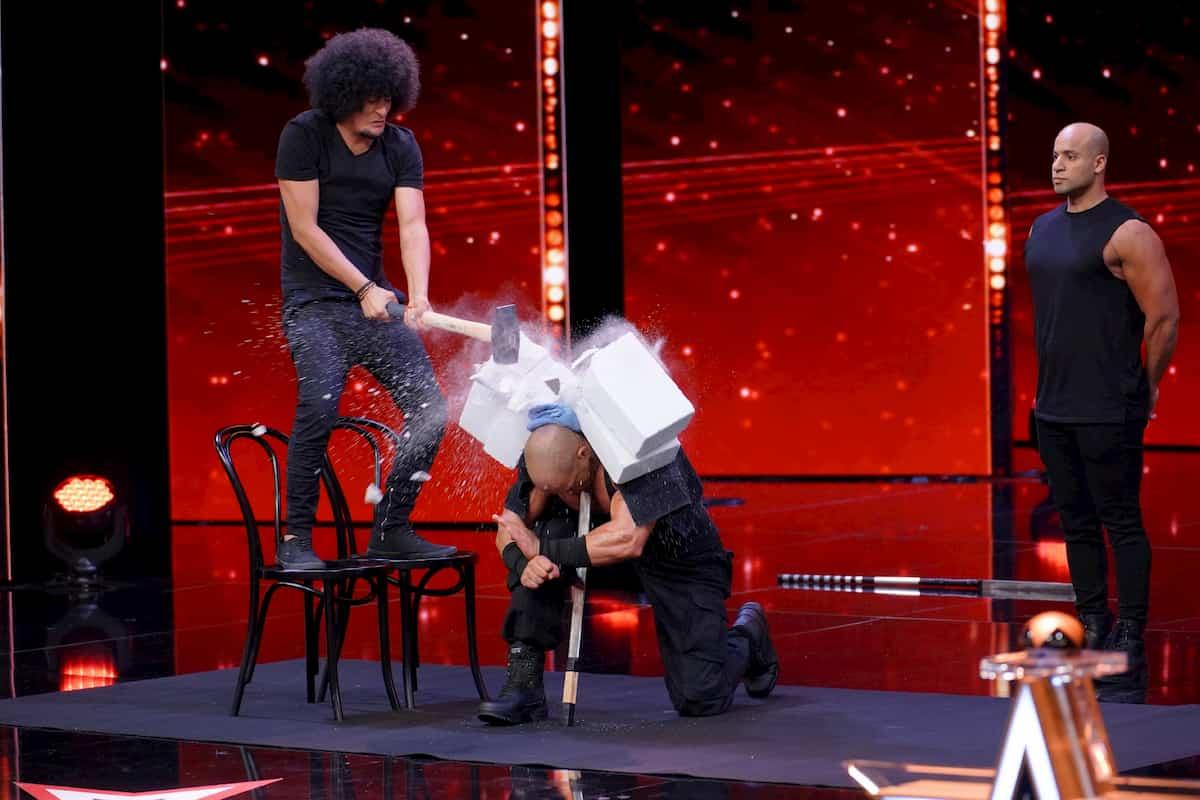 Ayman Abdelhakim beim Supertalent am 9.11.2019