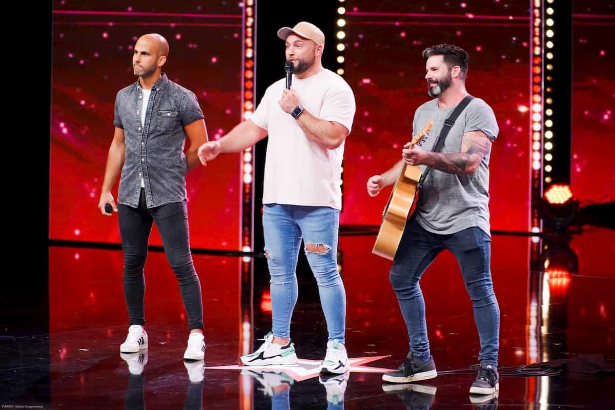 Beatboxer Duke als Kandidaten beim Supertalent am 30.11.2019