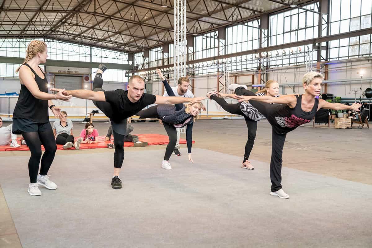 Dancing on Ice 2019 - Prominente beim Training