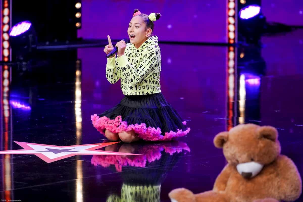 Daria Tayel beim Supertalent am 30.11.2019