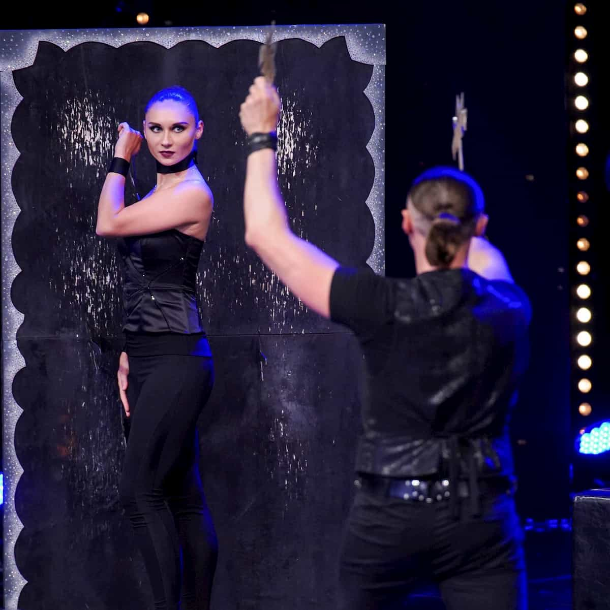 Darya Sharamet und Andrei Gomonov beim Supertalent am 30.11.2019