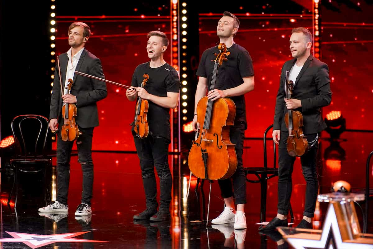 De Facto Quartet beim Supertalent am 23.11.2019