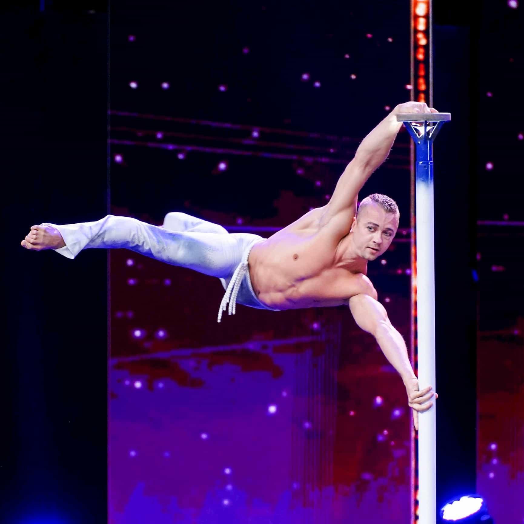 Dima Shine als Kandidat beim Supertalent am 30.11.2019