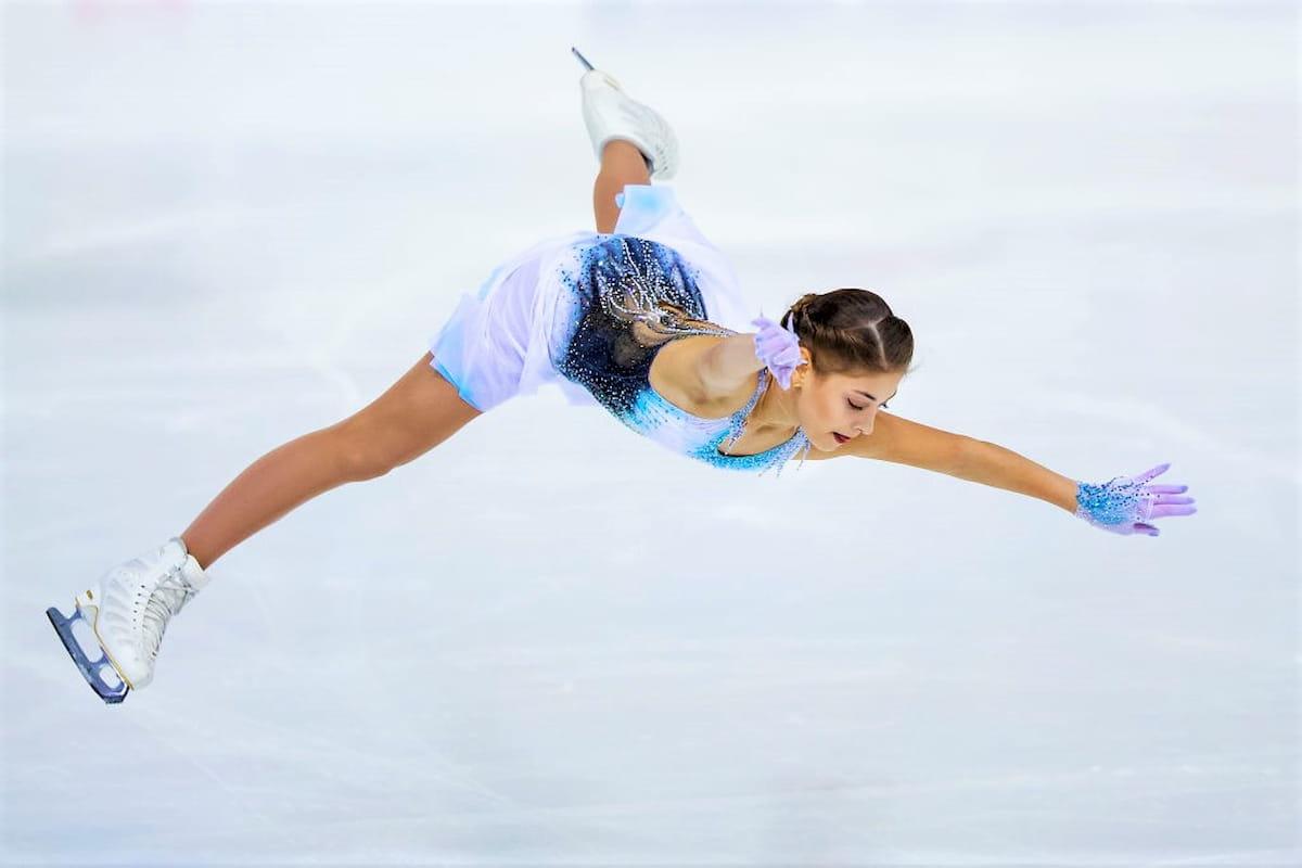 Eiskunstlauf ISU Grand Prix 22.-24.11.2019 Japan, Sapporo, NHK Trophy 2019 - hier Alena Kostornaia