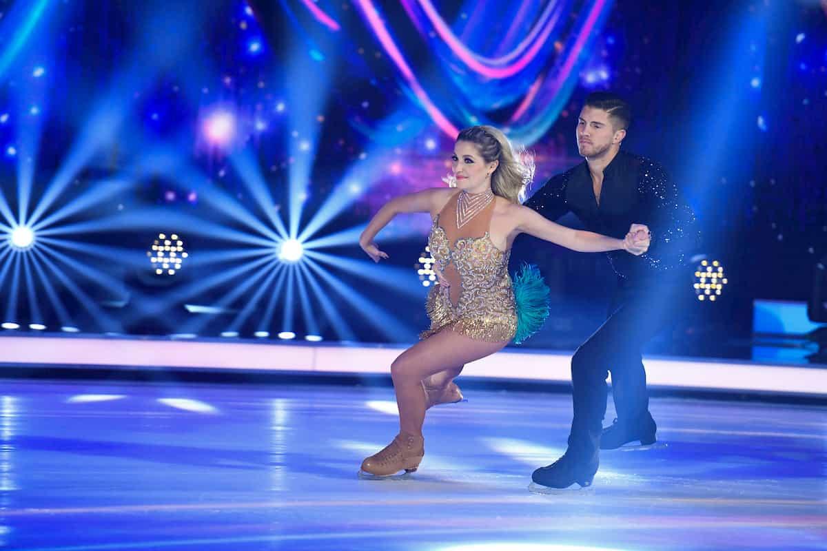 Joey Heindle - Ramona Elsener bei Dancing on Ice am 22.11.2019