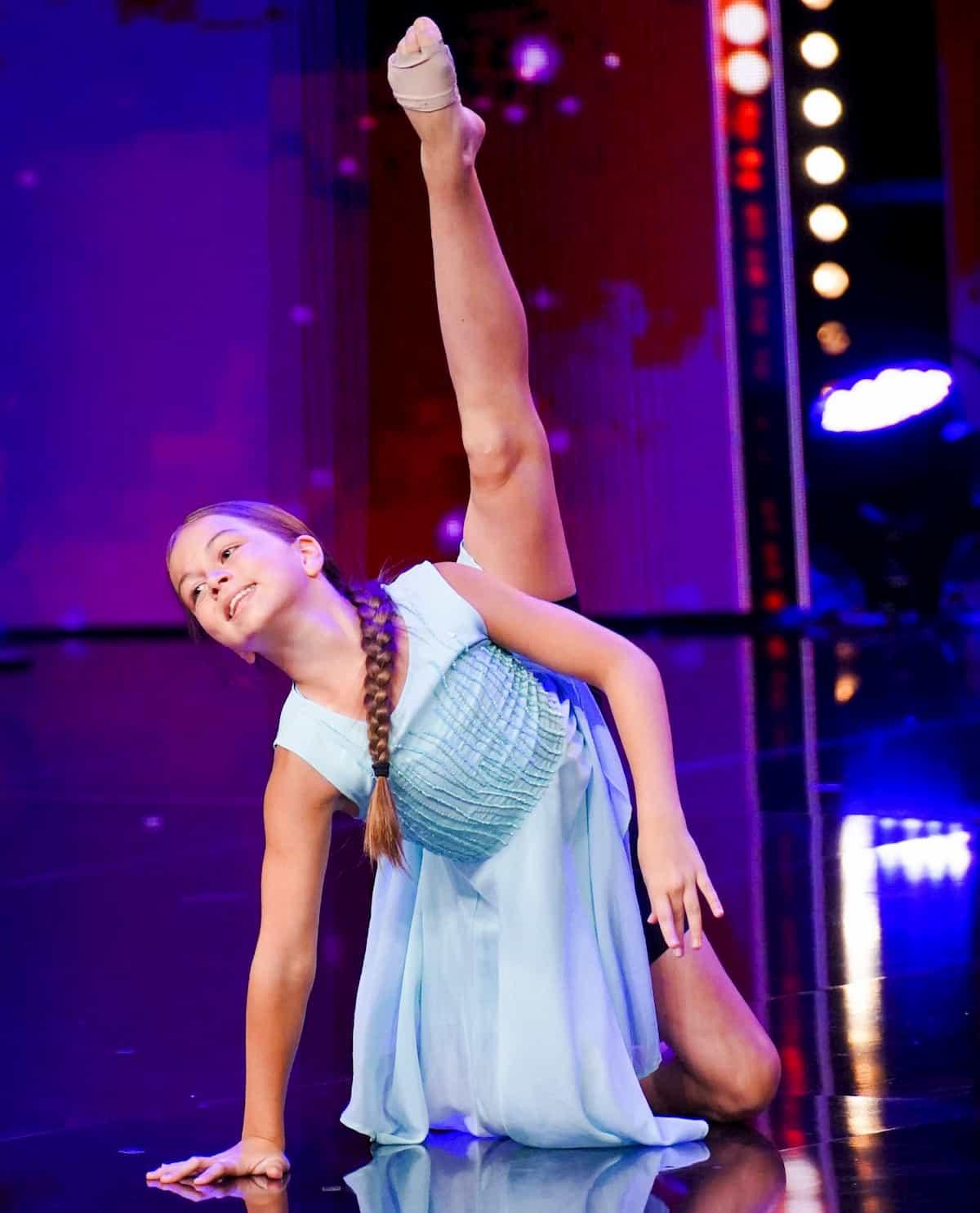Julie Ehebald beim Supertalent am 23.11.2019