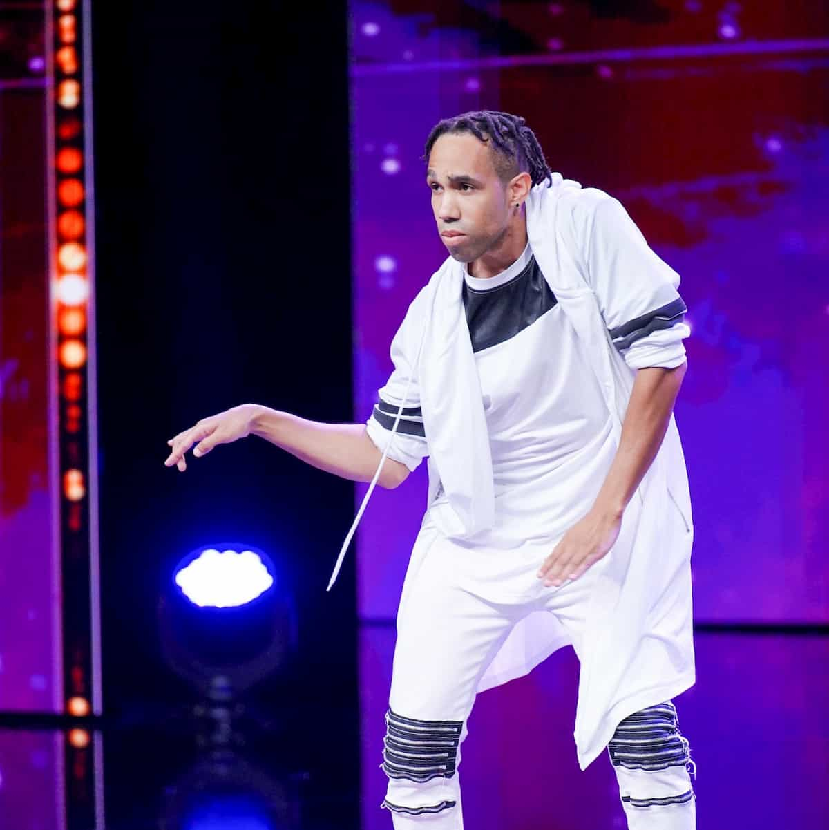 Julius Thornton Chisolm beim Supertalent am 30.11.2019