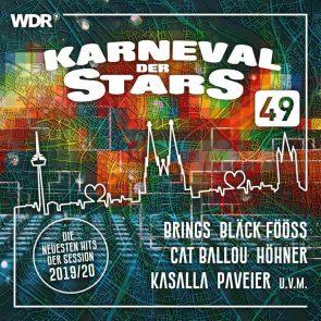 Karneval der Stars 49 - Neue Karnevals-CD 2019-2020