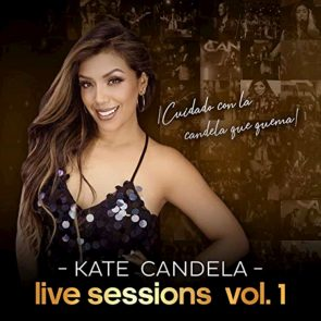 Kate Candela Salsa-Album mit ihren Hits - Live Session Vol 1