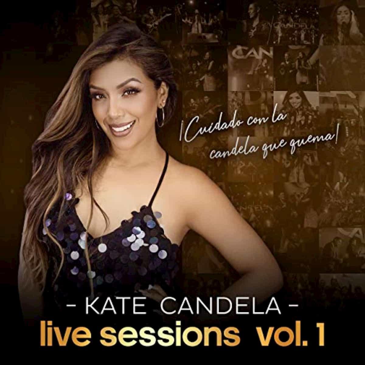 Kate Candela Salsa-Album mit ihren Hits - Live Session Vol 1