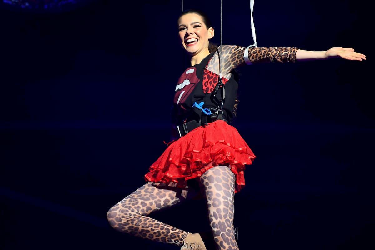 Klaudia mit K - Sevan Lerche ausgeschieden bei Dancing on Ice am 29.11.2019