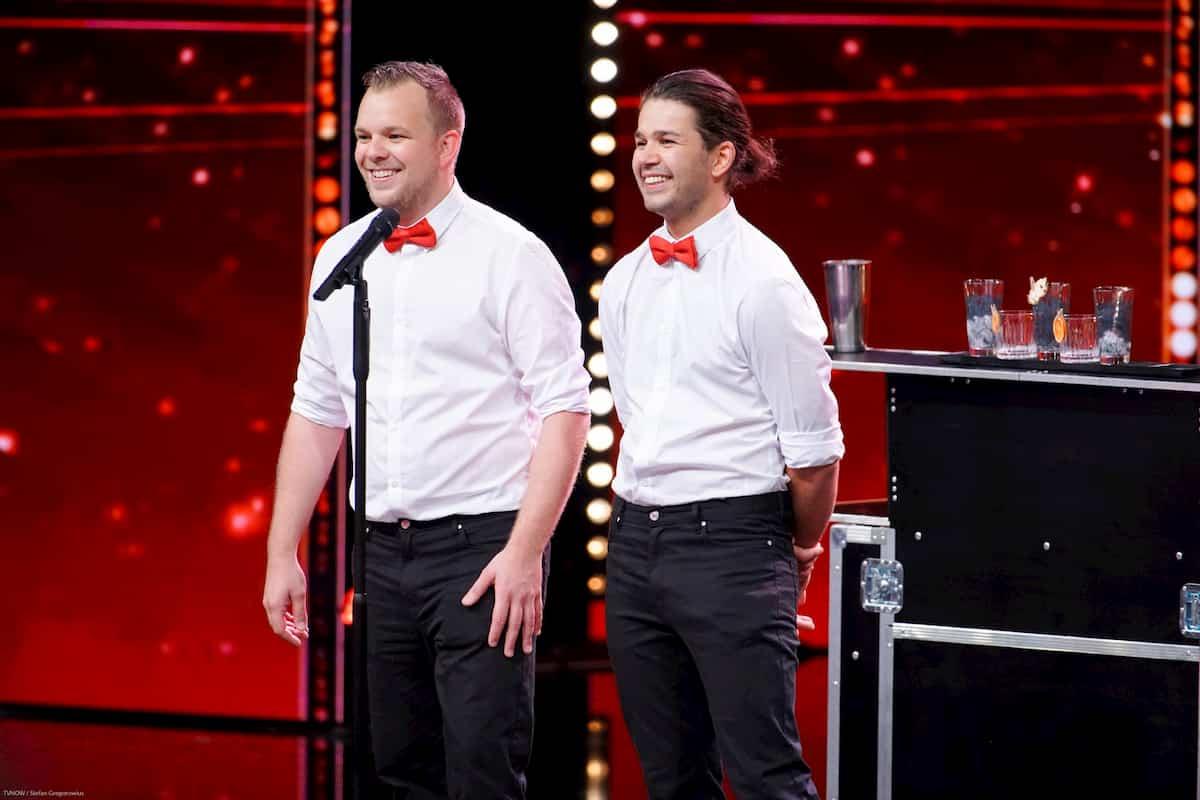 Kristoff Salewski und Alex Öhler beim Supertalent am 9.11.2019
