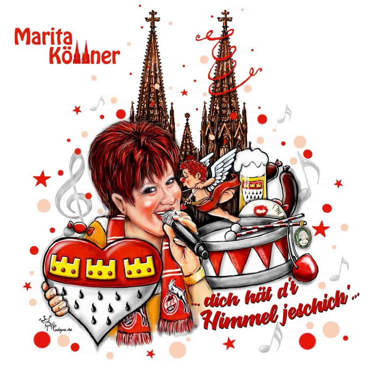 Marita Köllner - CD Dich hät dr Himmel jeschick 2019