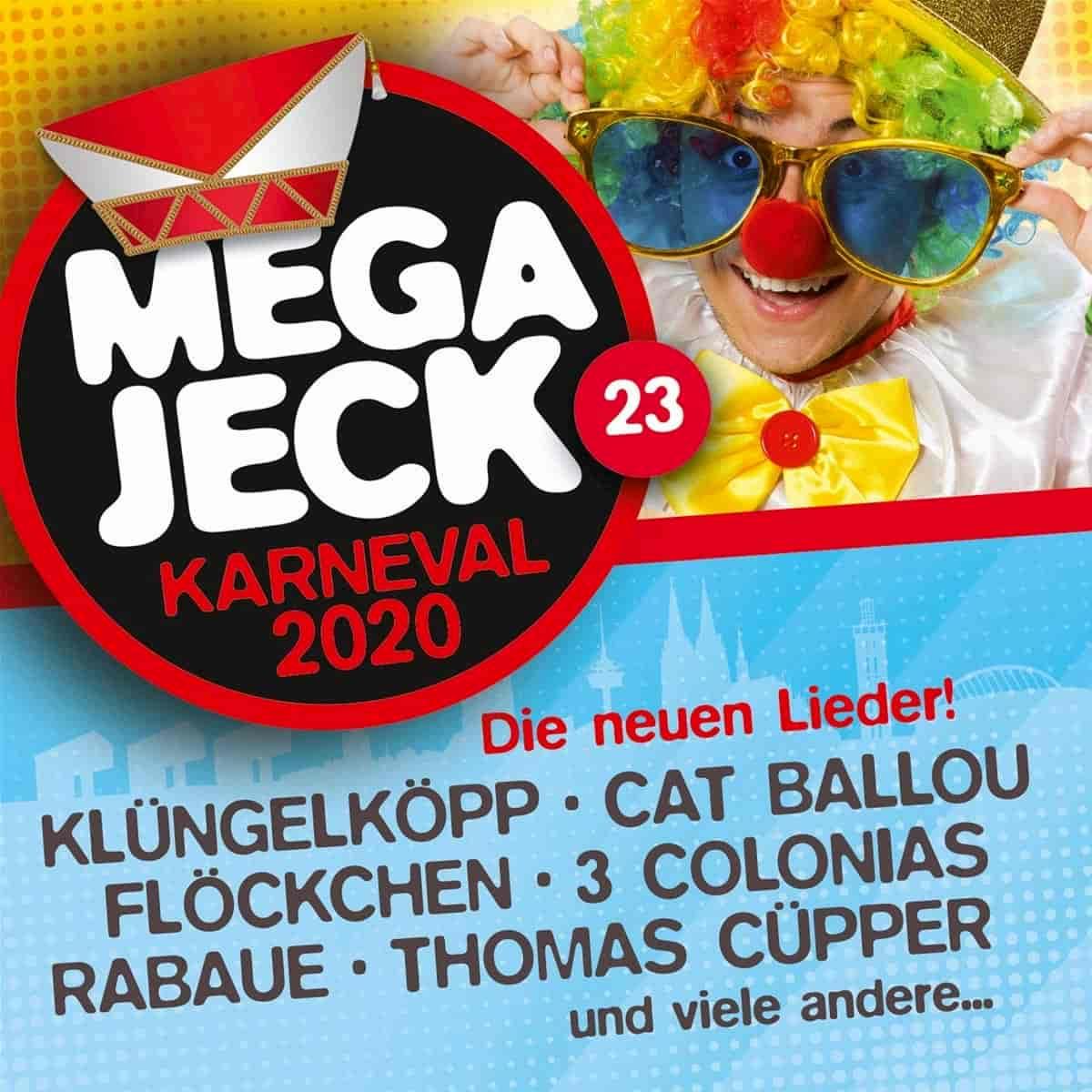Megajeck 23 - Neue Karnevals-Lieder der Session 2019-2020