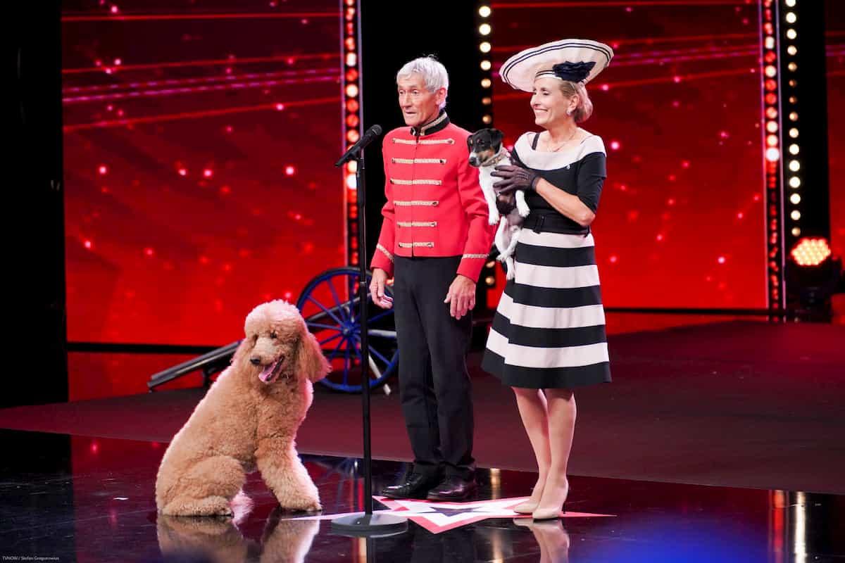 Michael und Pascale Sylvie Freeman beim Supertalent am 2.11.2019