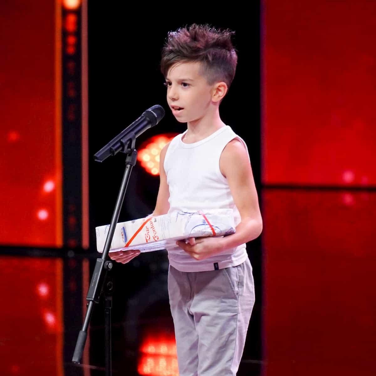 Mirko Casella beim Supertalent am 2.11.2019