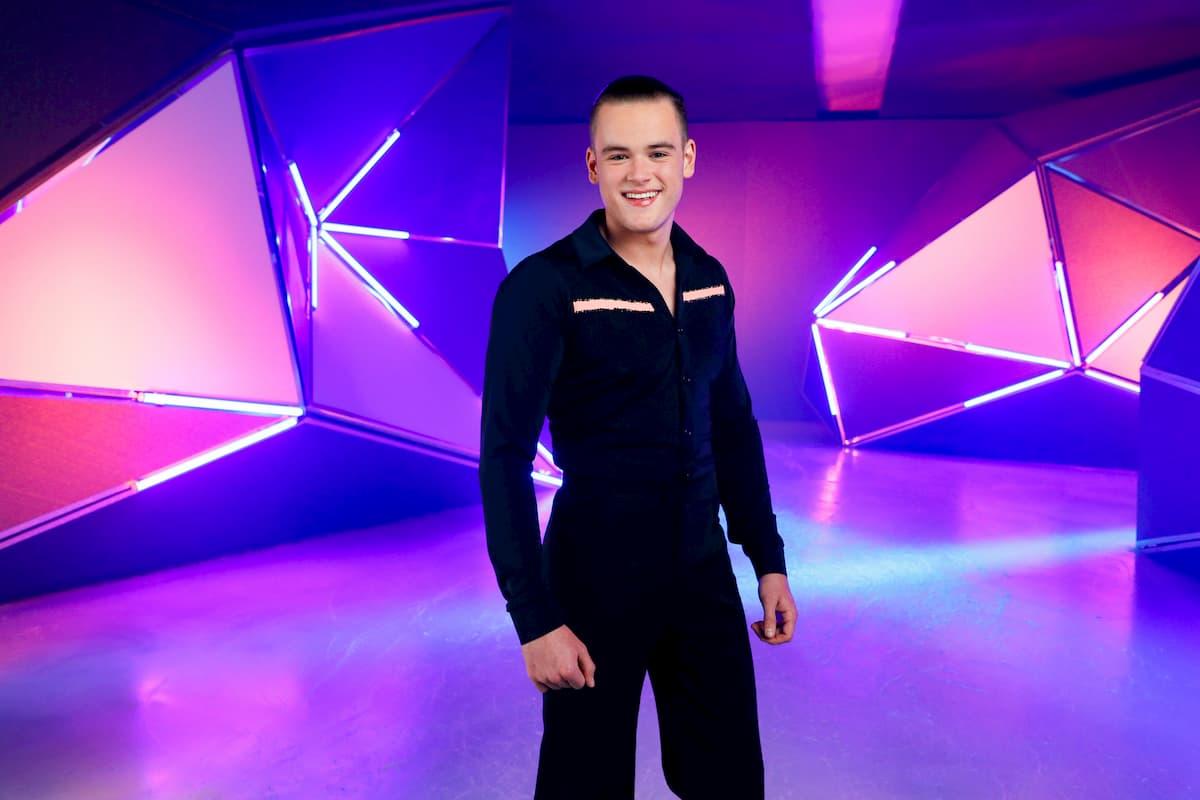 Paul Elvers bei Dancing on Ice 2019 als Ersatz für seine Mutter Jenny Elvers