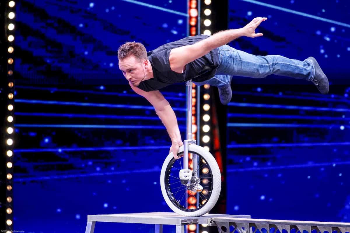 Paul Mattheß beim Supertalent am 2.11.2019
