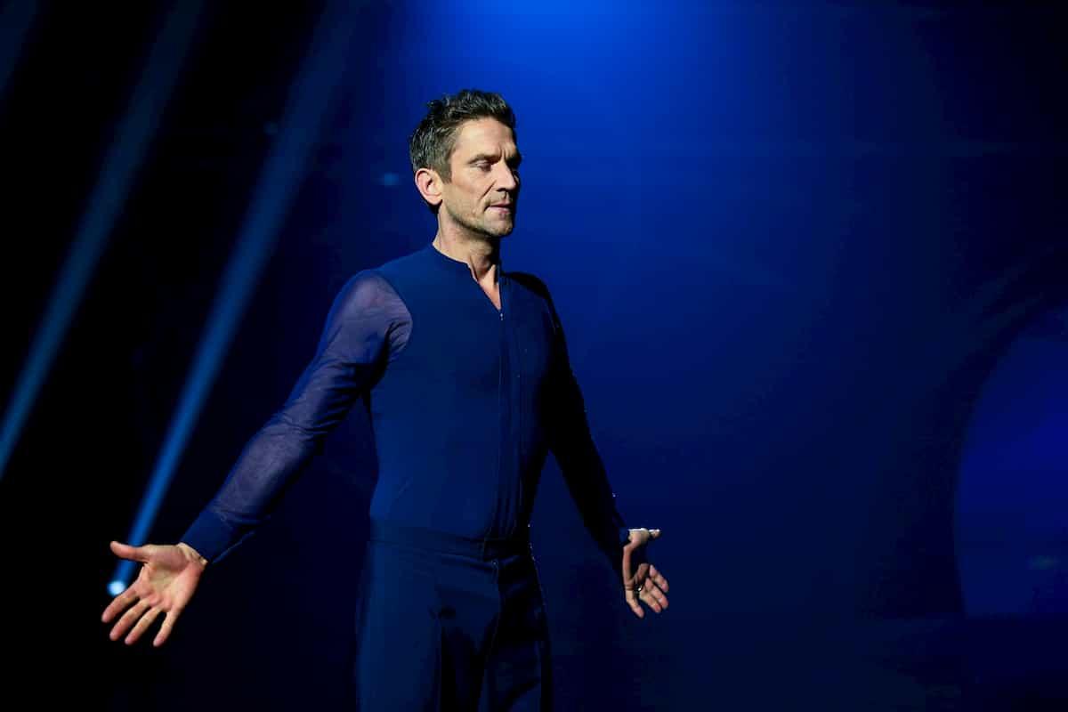 Peer Kusmagk bei Dancing on Ice am 22.11.2019