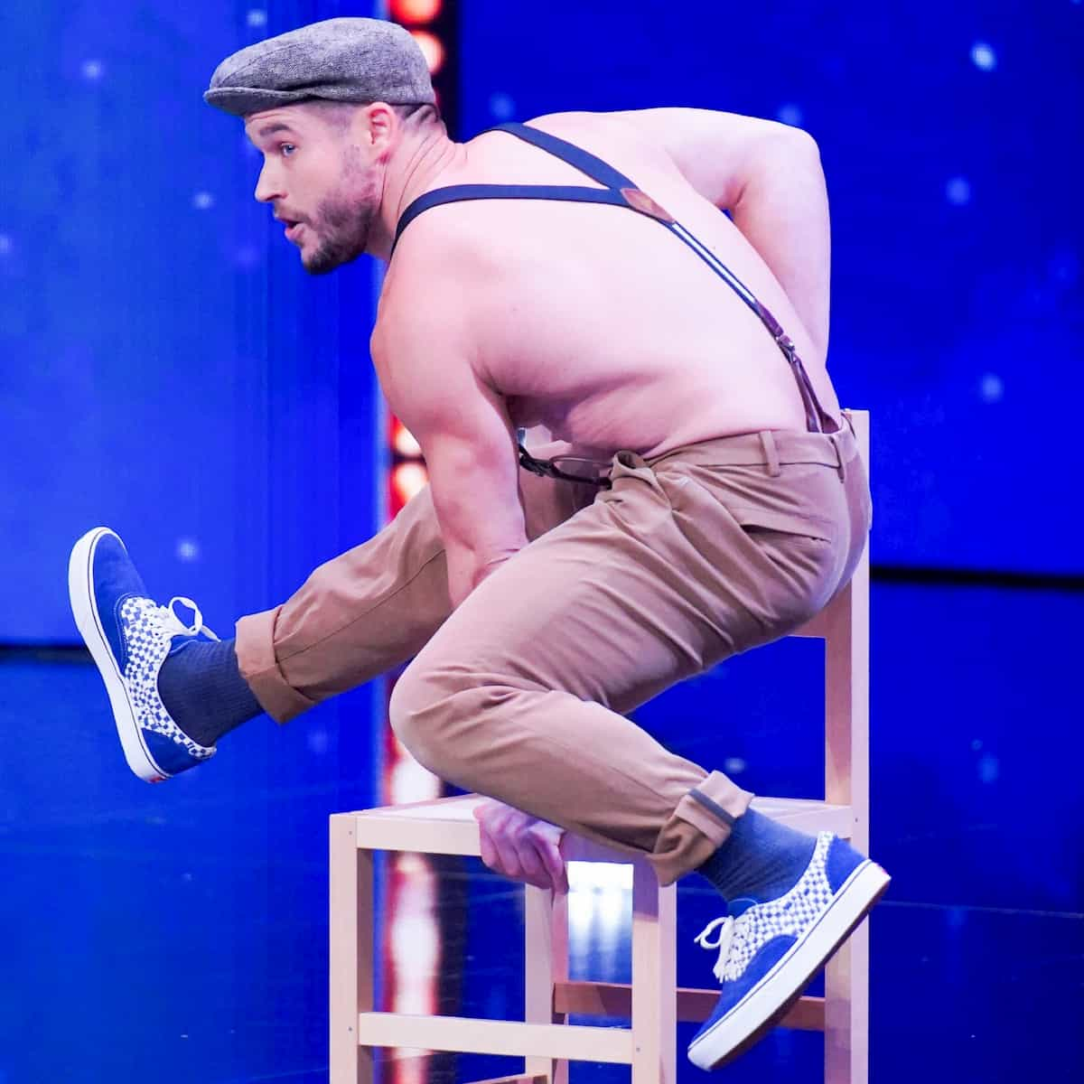 Richard Maguire beim Supertalent am 23.11.2019