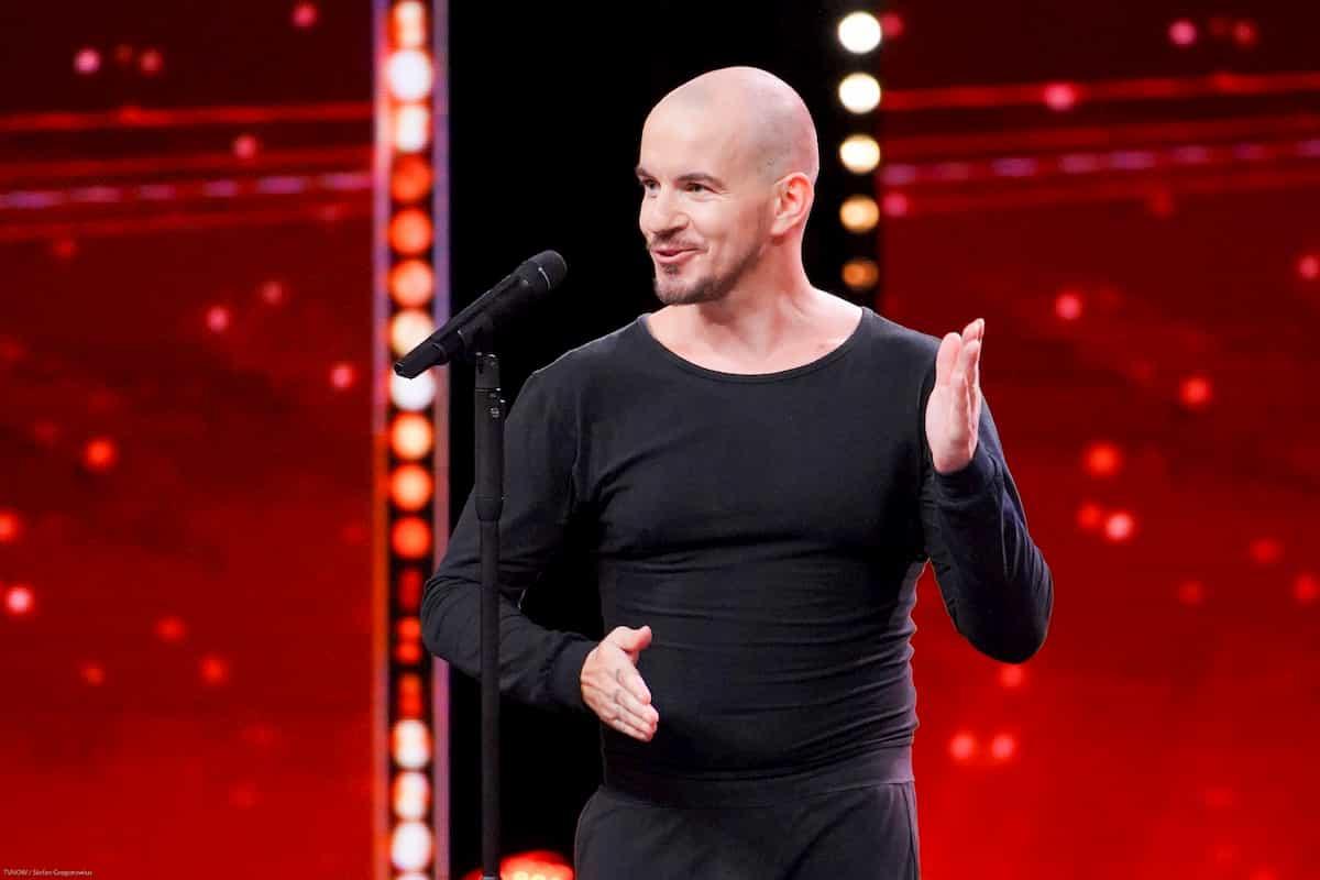 Rocco Menzel beim Supertalent am 2.11.2019
