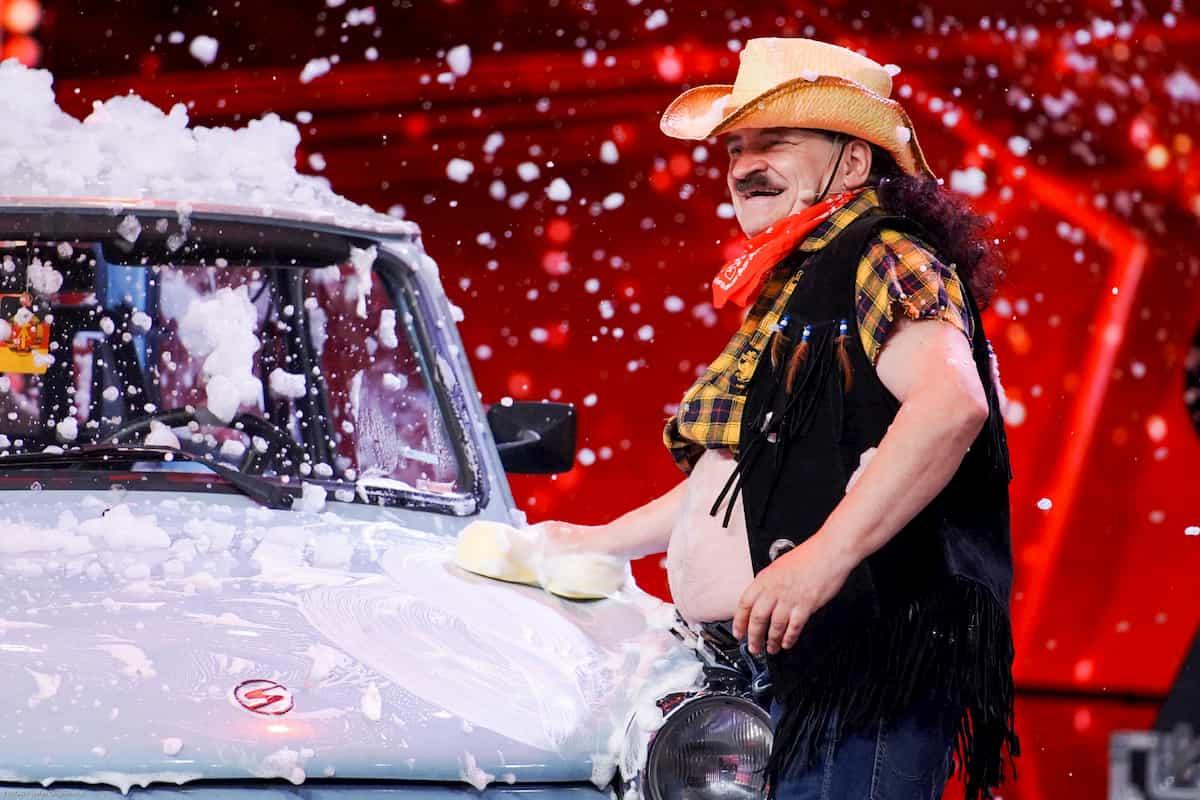 Stefan Chone beim Supertalent am 2.11.2019