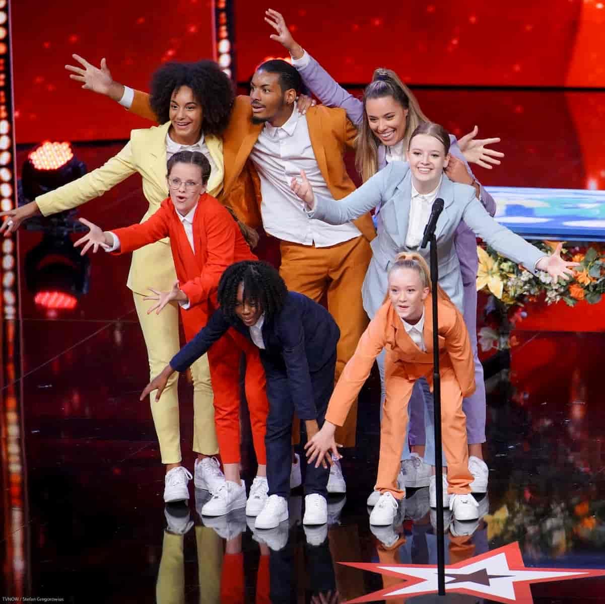 Tanzgruppe MOVE beim Supertalent am 30.11.2019