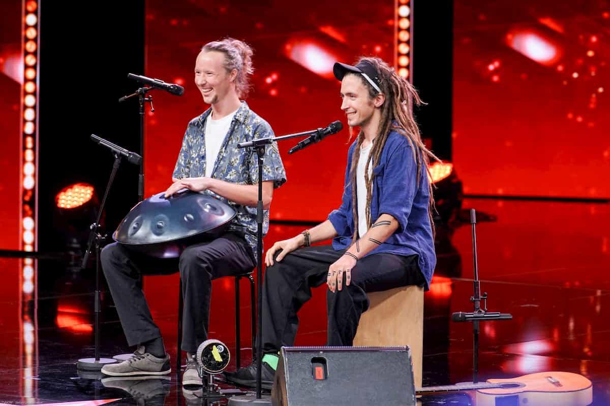 Wotan Oberascher und Conrado Molina beim Supertalent am 9.11.2019