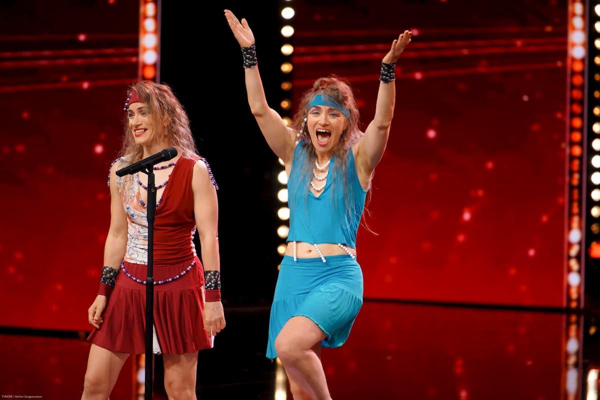 Yvonne und Nicole Scholich beim Supertalent am 9.11.2019