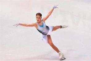 Alena Kostornaia mit neuem Weltrekord im Kurzprogramm beim Eiskunstlauf Grand Prix Finale 2019