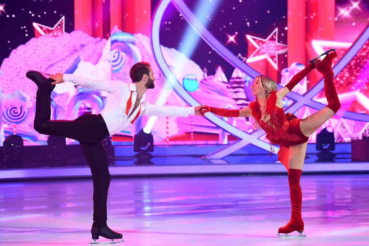 Andre Hamann - Stina Martini bei Dancing on Ice am 6.12.2019