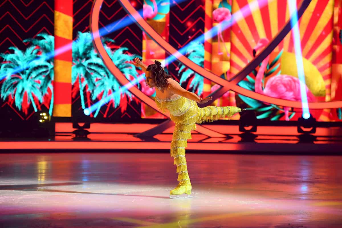 Ausgeschieden bei Dancing on Ice am 13.12.2019 Nadine Angerer - David Vincour