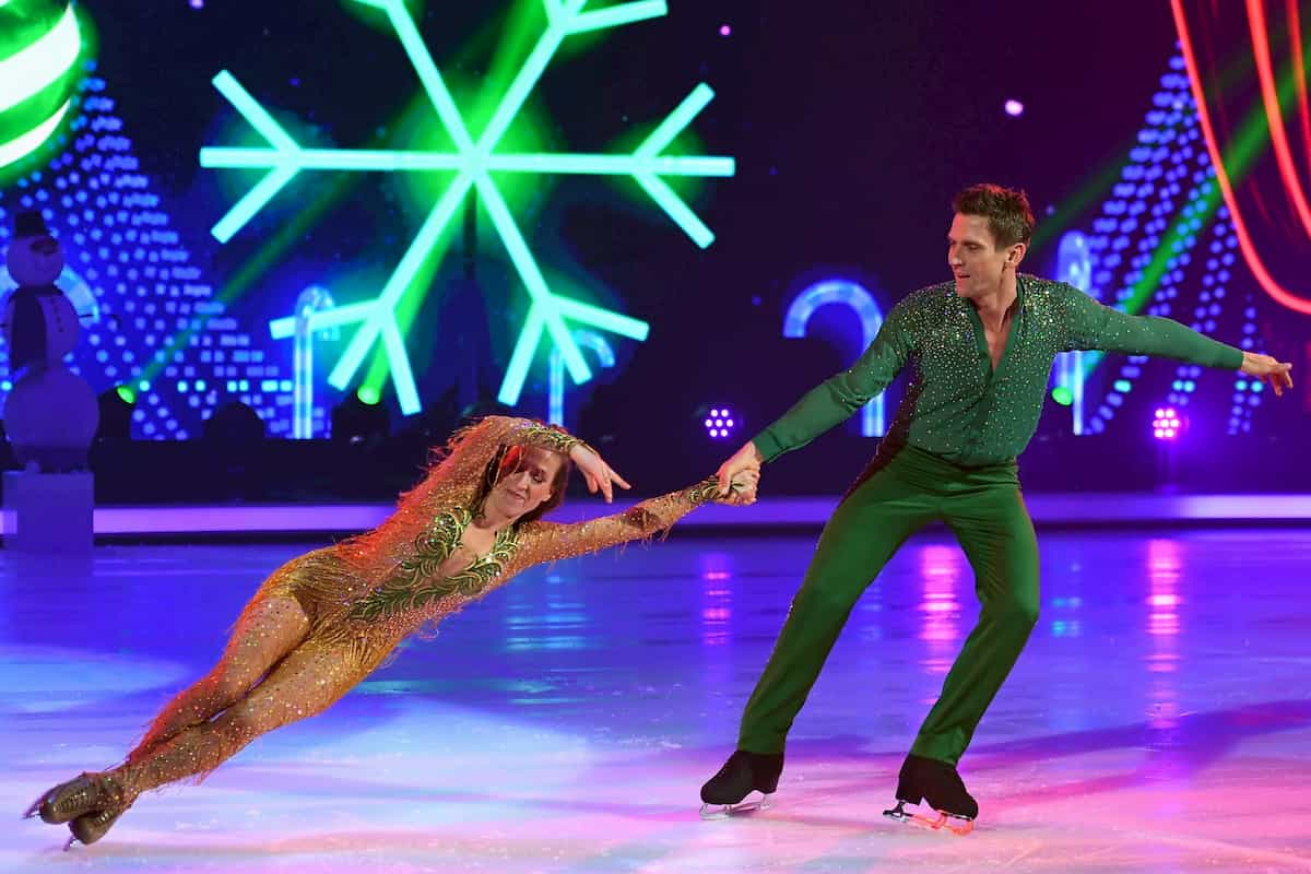 Ausgeschieden bei Dancing on Ice am 6.12.2019 Peer Kusmagk - Kat Rybkowski