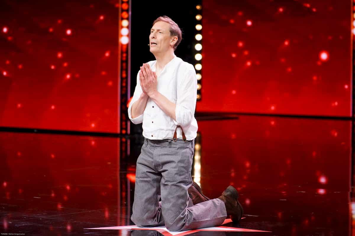 Bernard Wall beim Supertalent am 7.12.2019
