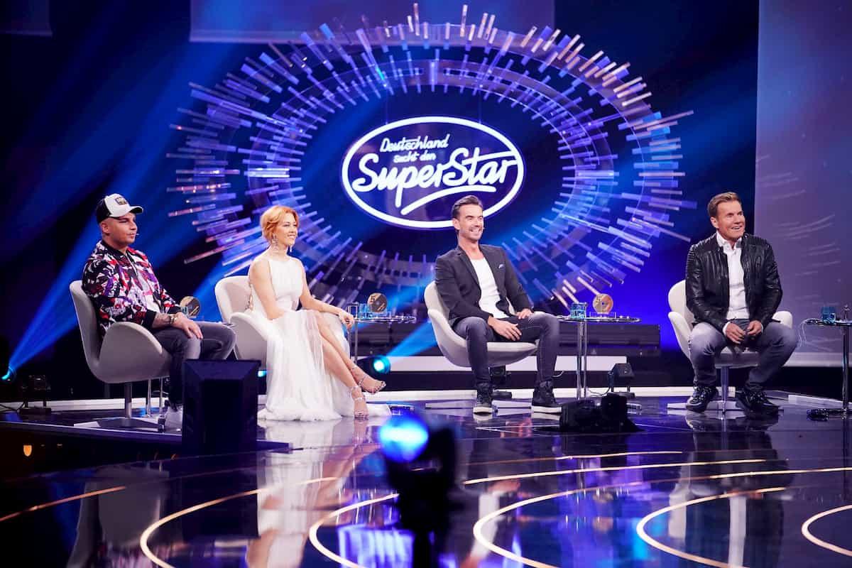 DSDS-Jury in der Live-Show am 21.3.2020 mit Florian Silbereisen
