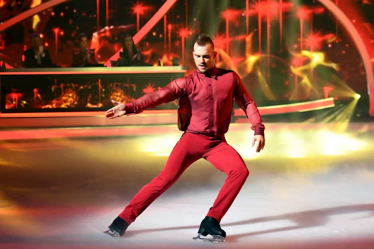Dancing on Ice 6.12.2019 - Eric Stehfest