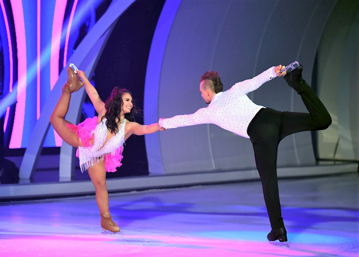 Dancing on Ice Finale am 20.12.2019 Amani Fancy und Eric Stehfest